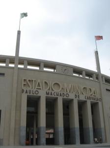 Entrada del Museo del Futbol, Estadio de Pacaembu