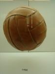 Balon de futbol 1958