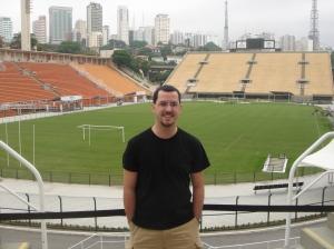 En el Estadio de Pacaembú