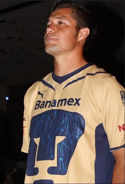 Playera Dorada Pumas